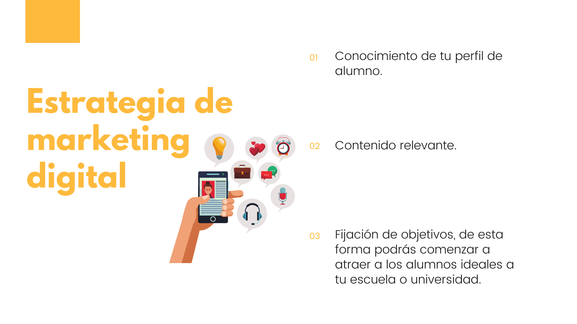 Marketing digital para escuelas